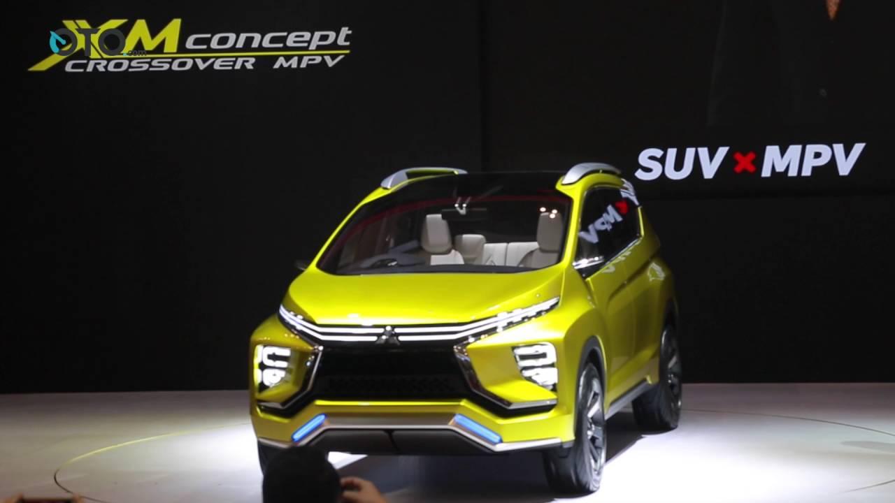 GIIAS 2016 World Premiere Mitsubishi XM Concept OTOcom YouTube