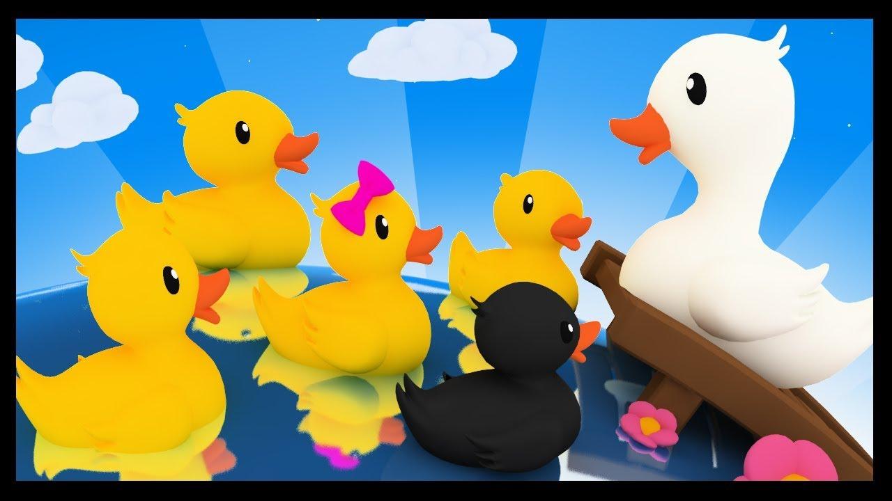 Cinq Petits Canards Comptines Et Chansons Pour Les Enfants