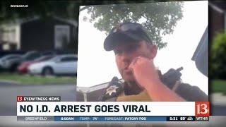 Video of arrest goes viral
