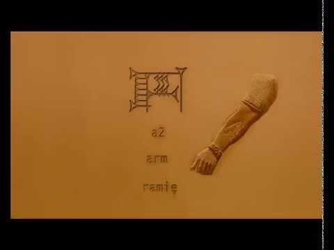 Ancient Sumerian Language  lesson 0001 eme-gir