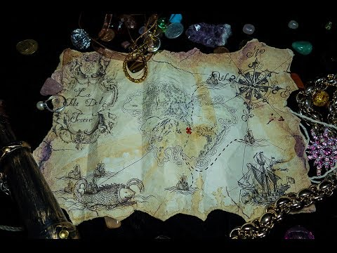 How To Make a Pirate Treasure Map  DIY. 1st Method