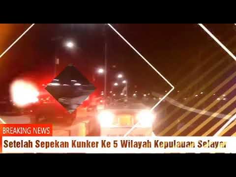 Video : Bupati Tiba Kembali Di Dermaga Rauf Rahman Benteng Selayar