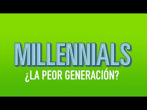 Millennials ¿La generación que acabará con el mundo? l MrX