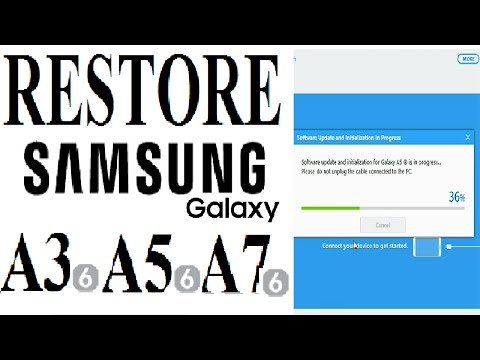 How To Update/ Restore Original Firmware on Samsung Galaxy A3, A5,  A7 (2016)
