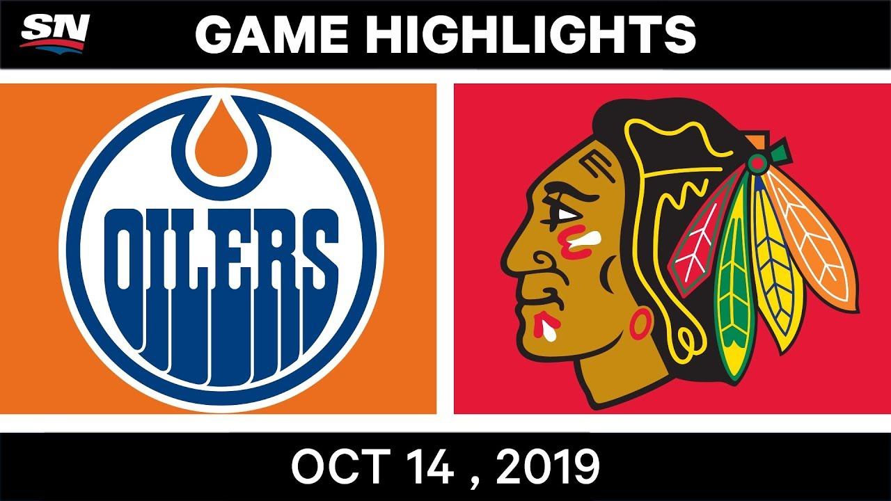 NHL Highlights | Oilers vs. Blackhawks – Oct. 14, 2019