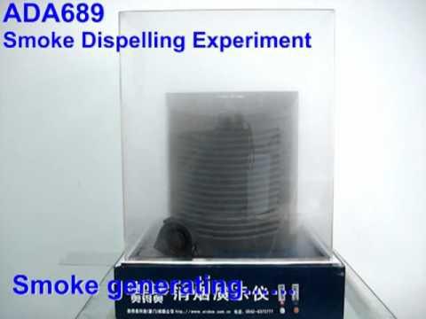 Product Vedio_ADA689 Smoke dispelling