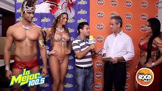 """CARNAVAL DE VERACRUZ 2015 en entrevista  con Rene """"El Mopet"""" Viveros"""