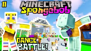 SPONGEBOB DANCE BATTLE BIKINI BOTTOM! 🕺😎 - Minecraft Spongebob Indonesia : S1EP11
