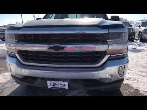 2018 Chevrolet Silverado 1500 Great Falls Bozeman Billings Butte Helena Mt Montana J1109740