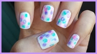 How To: Water Ring Nail Art