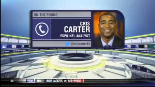 Cris Carter on the Jets, Giants, and taking CenterStage - The Michael Kay Show
