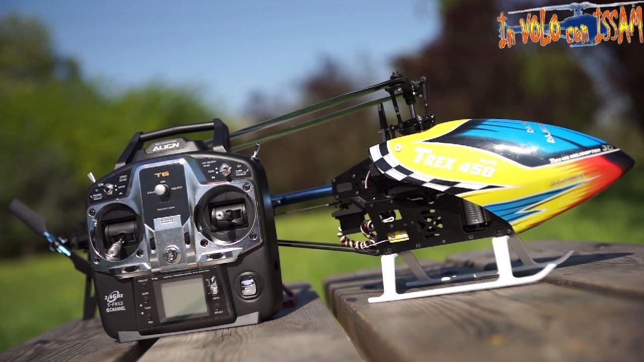 Elicottero 450 : T rex 450 plus dfc rtf un elicottero per principianti ed esperti