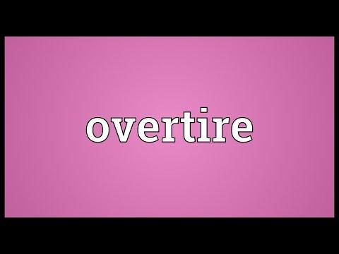 Header of overtire