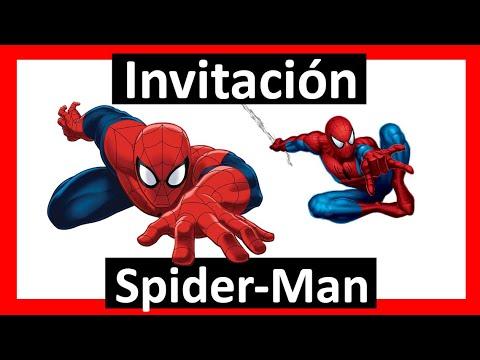 Video Invitación Spiderman Hombre Araña Whatsapp