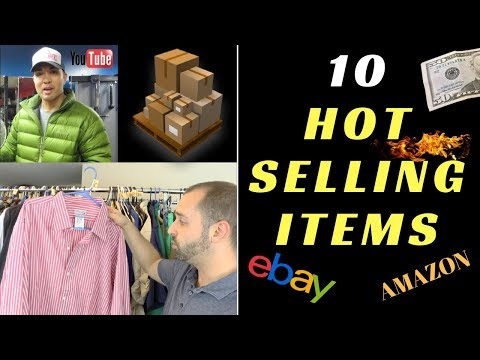 10 Hot Selling Items To Flip On eBay + Amazon w/ The Bonafide Hustler