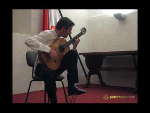 Carles Trepat - Concierto Semana Guitarra de Petrer 2009 (1/2)