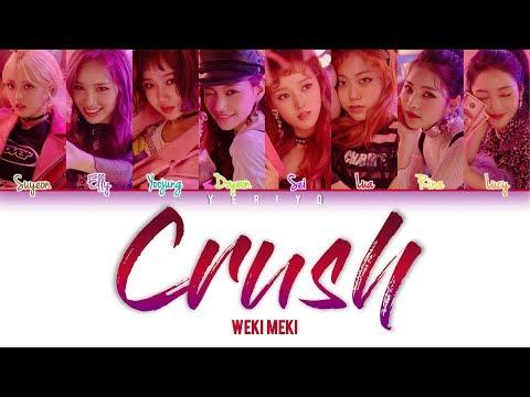 위키미키 (Weki Meki) - Crush Lyrics (Color Coded Han/Rom/Eng) indir