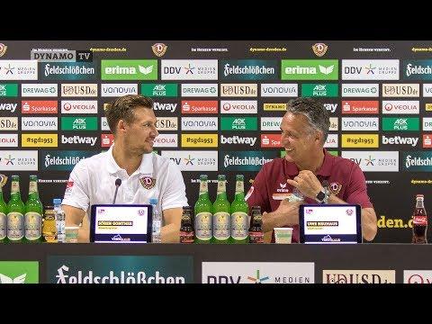 2. Spieltag | FCSP - SGD | Pressekonferenz vor dem Spiel