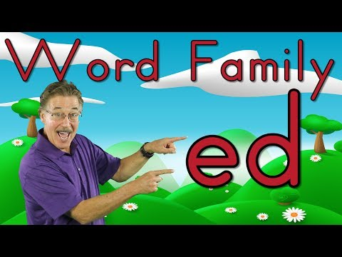 Word Family -ed   Phonics Song For Kids   Jack Hartmann