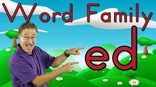 Word Family -ed | Phonics Song for Kids | Jack Hartmann