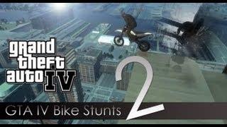 GTA 4 - Bike Stunts 2 - City Freestyle