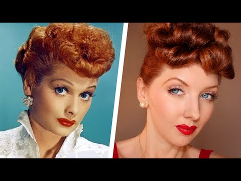 Transforming Into: Lucille Ball / Makeup & Hair Tutorial