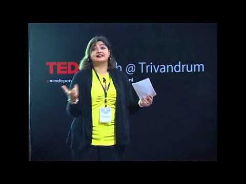 Dream but don't forget to remain rooted: Vasundara Das at TEDxYouth@Trivandrum