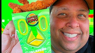 There Back!!...Burger King® Jalapeño #ChickenFries Review!