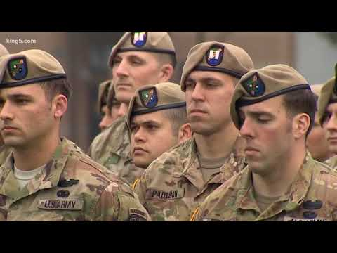 Army Rangers Honored In U.S.' Longest War