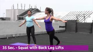 """""""The Hourglass Workout"""" at Women"""
