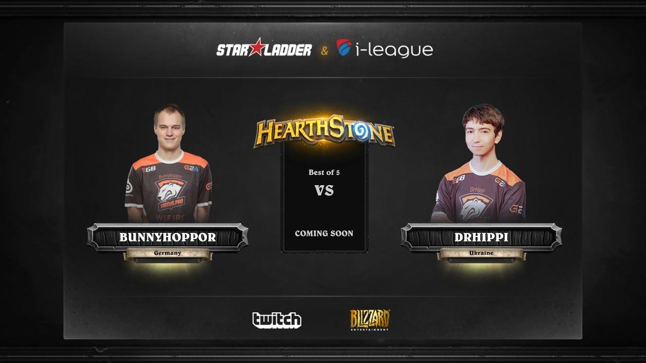 [EN] BunnyHoppor vs DrHippi | SL i-League Hearthstone StarSeries Season 3 (12.05.2017)