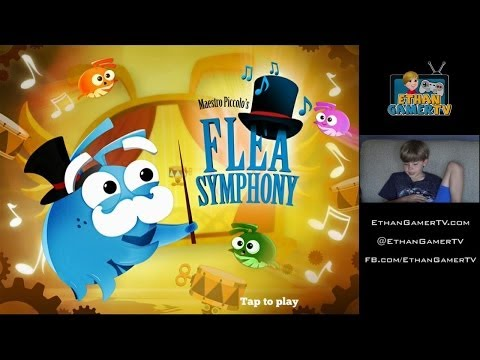 I''M A BOUNCING FLEA!!! Ethan plays Mobile Games