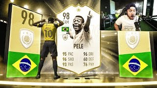 OMG I GOT 98 PELE!! 125K PACKS!! FIFA 19