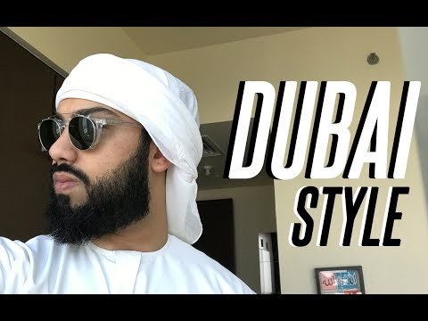 HOW TO TIE ARABIC EMIRATI HEADGEAR - DUBAI and ABU DHABI STYLE !!!