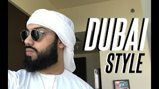 HOW TO TIE ARABIC EMIRATI HEADGEAR - DUBAI and ABU DHABI STYLE !!!