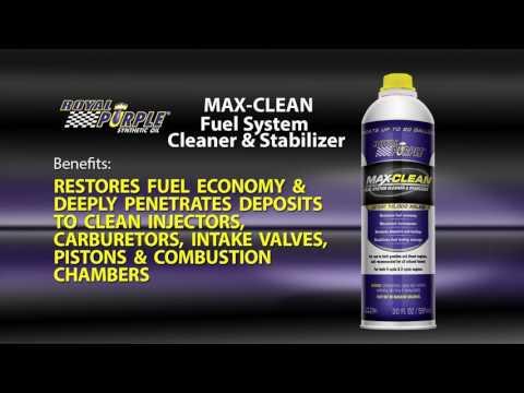 Royal Purple Max-Clean Fuel System Treatment