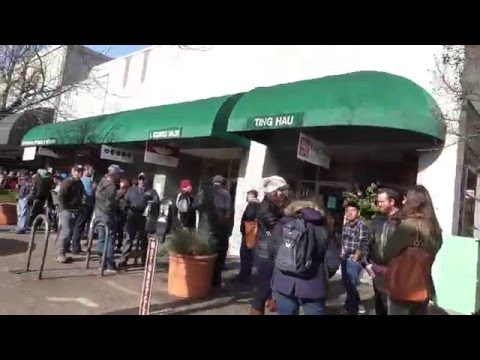2016 Pliny the Younger Release Day Line at Russian River Brewery - Santa Rosa, CA
