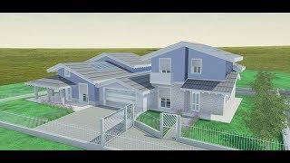 Progetto Villa 2 Piani Rendering 3d Edificius Youtube