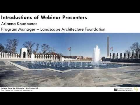 Landscape Architects as Federal Leaders