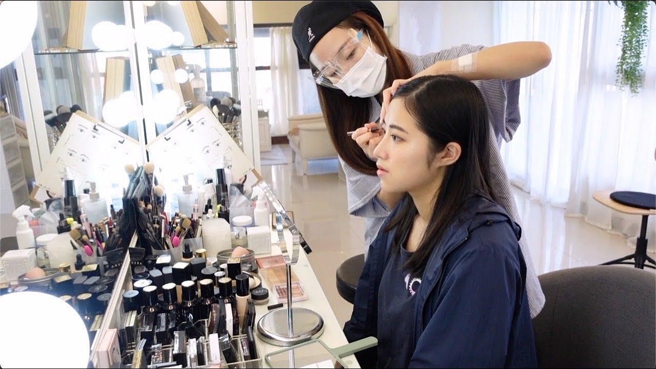 一對一個人彩妝教學,上課方式過程短片分享2021/8月更新「WINNI小閔妝髮造型工作室」