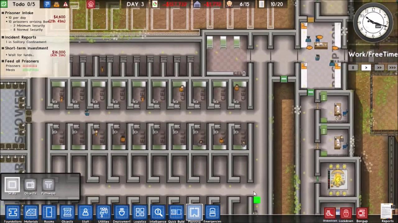 Prisoner intake