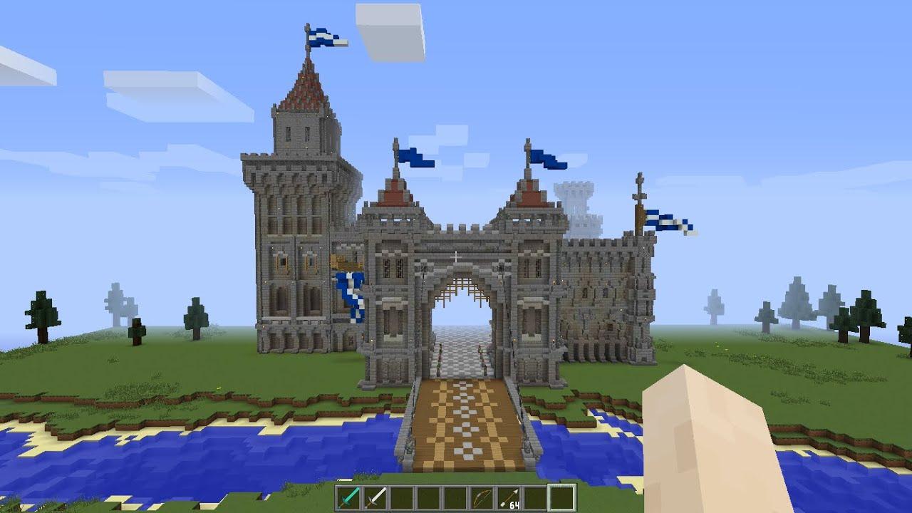 фото майнкрафт замок