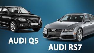 Обзор автомобилей AUDI RS7 Performance 2016 и AUDI Q5 2017. Разбор масляных фильтров.