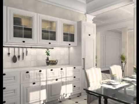 Kitchen Design Ideas White Cabinets Youtube