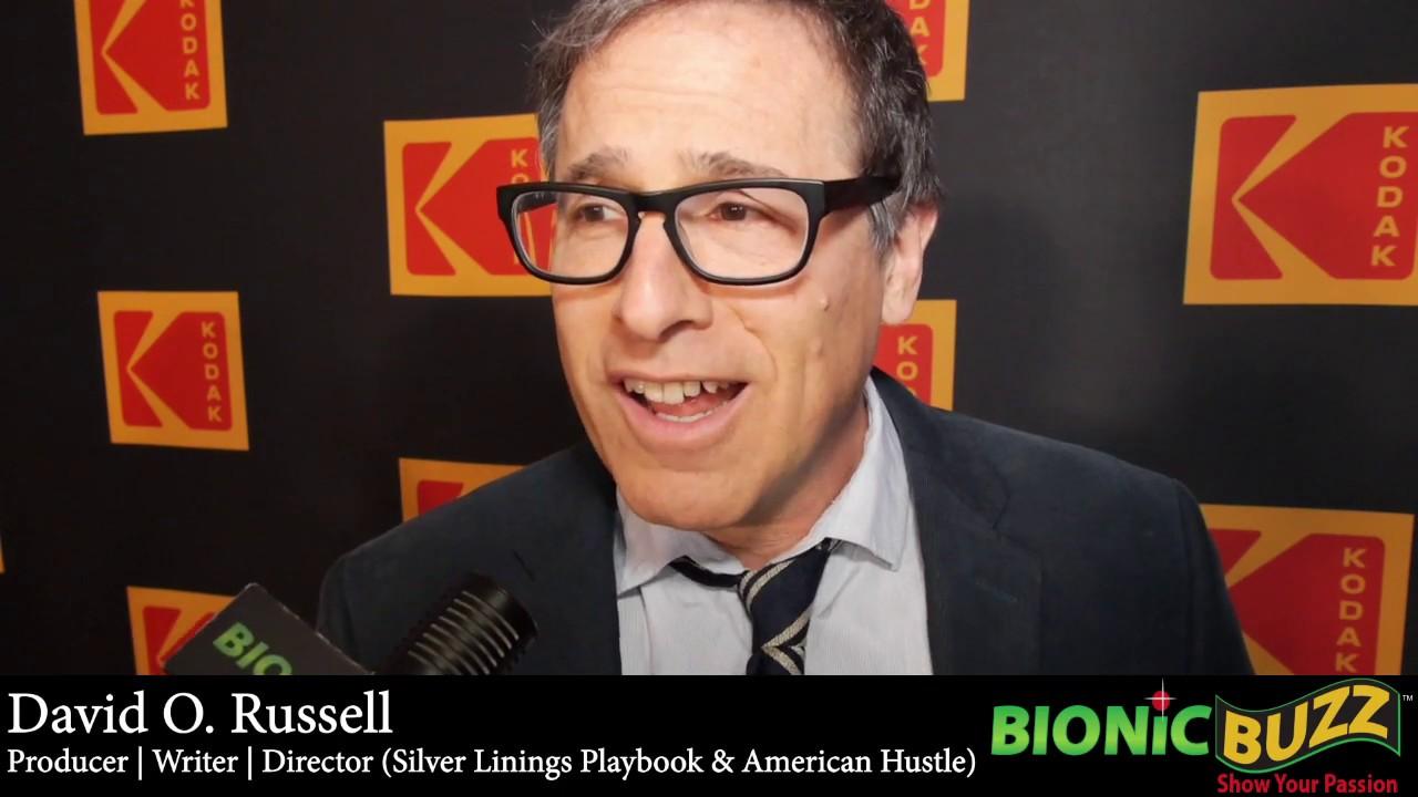 David O  Russell Interview at the 2019 KODAK Film Awards