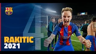 Fc barcelona has announced that it reached an agreement with ivan rakitic to extend his contract through 30 june 2021. the buyout clause will be set at 125 million euros. croat came ...