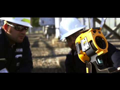 The Fluke Ti450 SF Gas Detector and Infrared Camera
