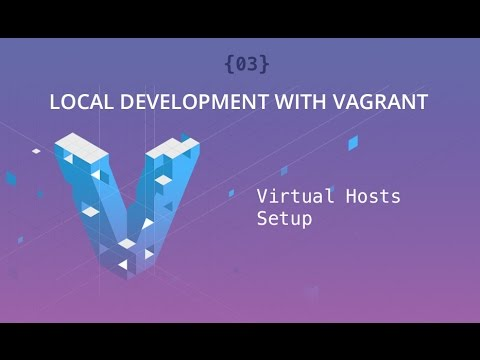 Local Development With Vagrant - Part 03 - Virtual Hosts Setup