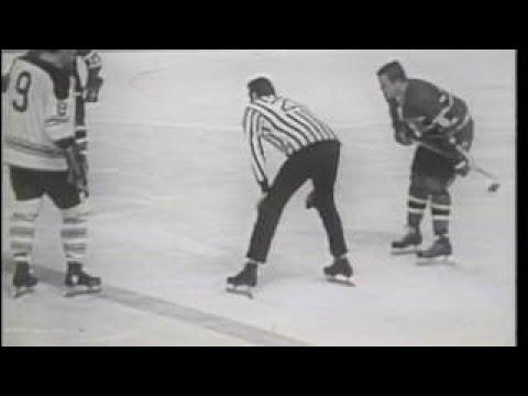 1969 Leafs vs Habs part1 CBC Original Broadcast part 1