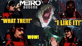DrDisrespect IMPRESSED By METRO EXODUS! -DOC PLAYS (Hilarious)!